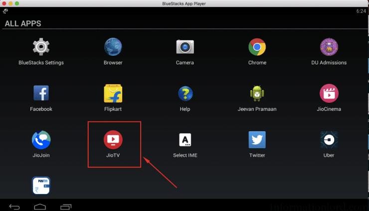 jiotv app for pc