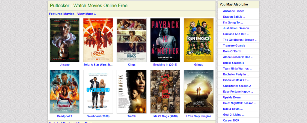 putlocker homepage
