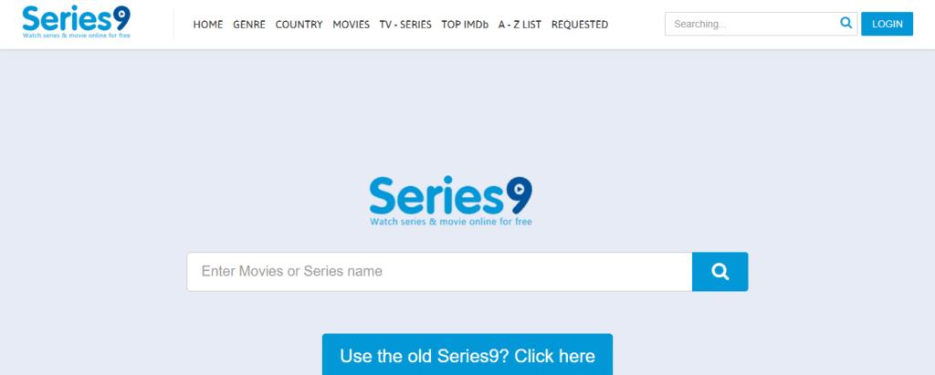 series online homepage