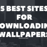 Downloading Wallpapers for Free