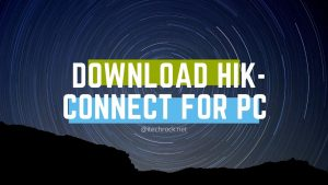 Download Hik-Connect for PC